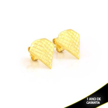 Imagem de Brinco Diamante Fosco e Diamantado - 0211548