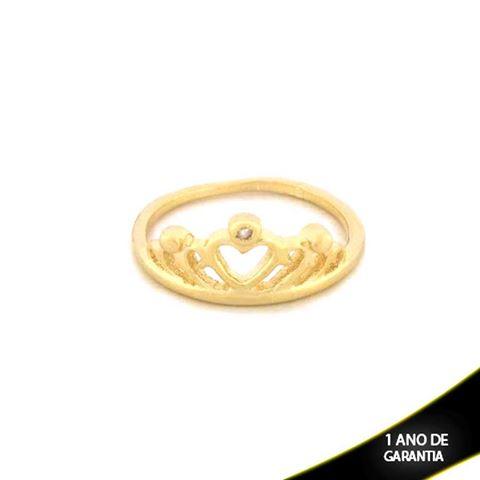 Imagem de Anel Coroa com Uma Zircônia - 0104165