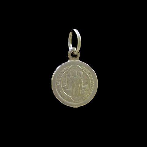 Imagem de Pingente de Prata 925 Medalha São Bento - 0304489