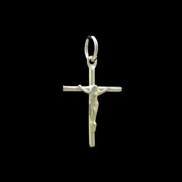 Imagem de Pingente de Prata 925 Cruz Corpo de Cristo - 0304506