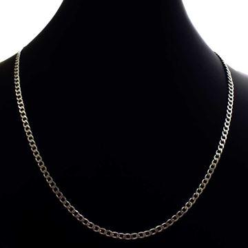 Imagem de Corrente Masculina de Prata 925 Diamantada 3mm 68cm - 0403629