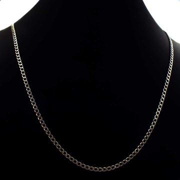 Imagem de Corrente Masculina de Prata 925 Diamantada 2,5mm 68cm - 0403630