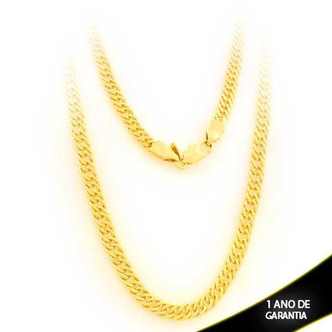 Imagem de Corrente Masculina Elos Diamantados 4,5mm 60cm - 0403645