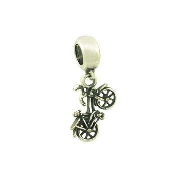 Imagem de Pingente Berloque Prata 925 Bicicleta Envelhecida - 0304543
