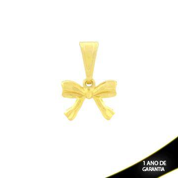Imagem de Pingente de Laço Fosco e Diamantado - 0304318