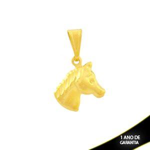 Imagem de Pingente Cara de Cavalo Fosco e Diamantado - 0304320