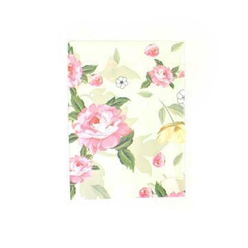 Imagem de Saquinhos para Presente Metalizados Estampa Flores e Pássaros Pct 50 Unidades - 02068