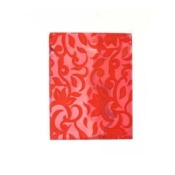 Imagem de Saquinhos para Presente Metalizados Estampa Vermelha Pct 50 Unidades - 02068