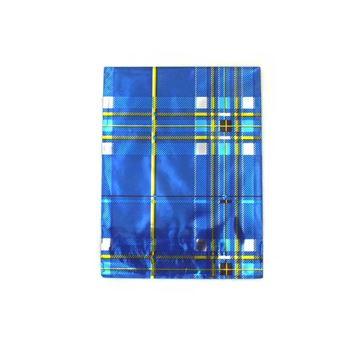 Imagem de Saquinhos para Presente Metalizados Estampa Linhas em Azul Pct 50 Unidades - 02068