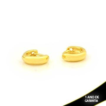 Imagem de Brinco Argola Lisa Pequena 3mm 0,8cm - 0212143
