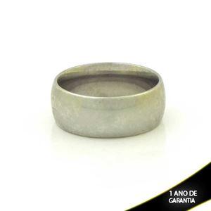 Imagem de Aliança de Compromisso Aço Inox Grossa Lisa 8mm - 0101706
