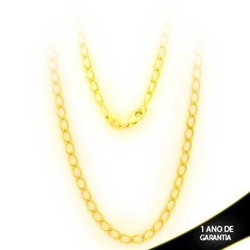 Imagem de Corrente Masculina Elos Diamantados 3,5mm 50cm - 0400833