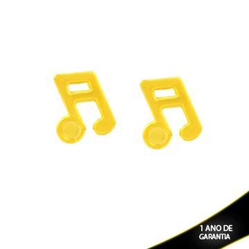 Imagem de Brinco de Nota Musical Liso - 0212416