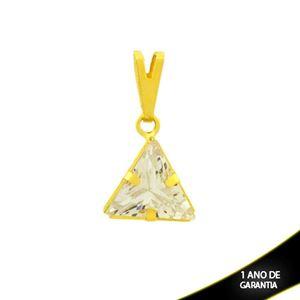 Imagem de Pingente Triângulo de Pedra de Zircônia - 0304750