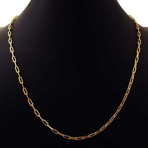 Imagem de Corrente Masculina Cartier Diamantada Fina 2,5mm 60cm - 0403785