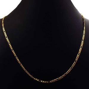 Imagem de Corrente Masculina 3x1 Achatada Diamantada 2,5mm 45cm - 0403990