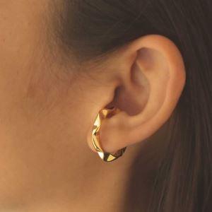 Imagem de Brinco De Pressão Para Cartilagem Torcido Unidade 2,7cm - 0212727