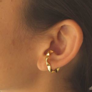 Imagem de Brinco De Pressão Para Cartilagem Torcido Unidade 2,3cm - 0212726